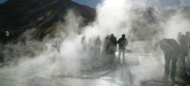 Tatio-Geysire: Von der zauberhaften Art, Dampf abzulassen